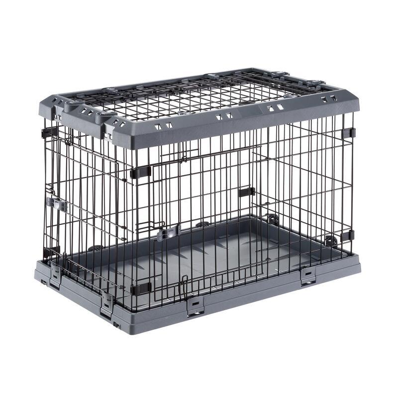 Cuşcă câine pliabilă pentru transport SUPERIOR 75 (M)