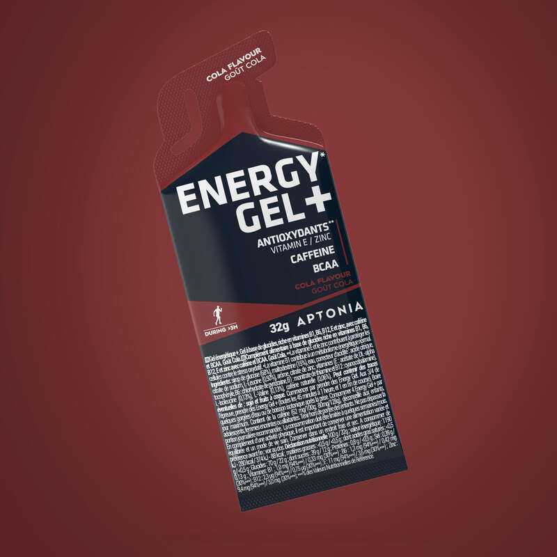 БЛОКЧЕТА И ГЕЛОВЕ Спортни добавки - ЕНЕРГИЕН ГЕЛ ENERGY GEL + КОЛА APTONIA - Енергиен прием