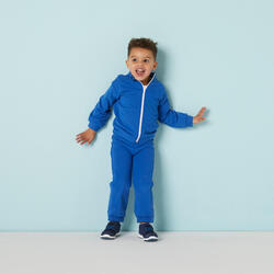 Fato de Treino Quente 120 Ginástica Bebé Azul