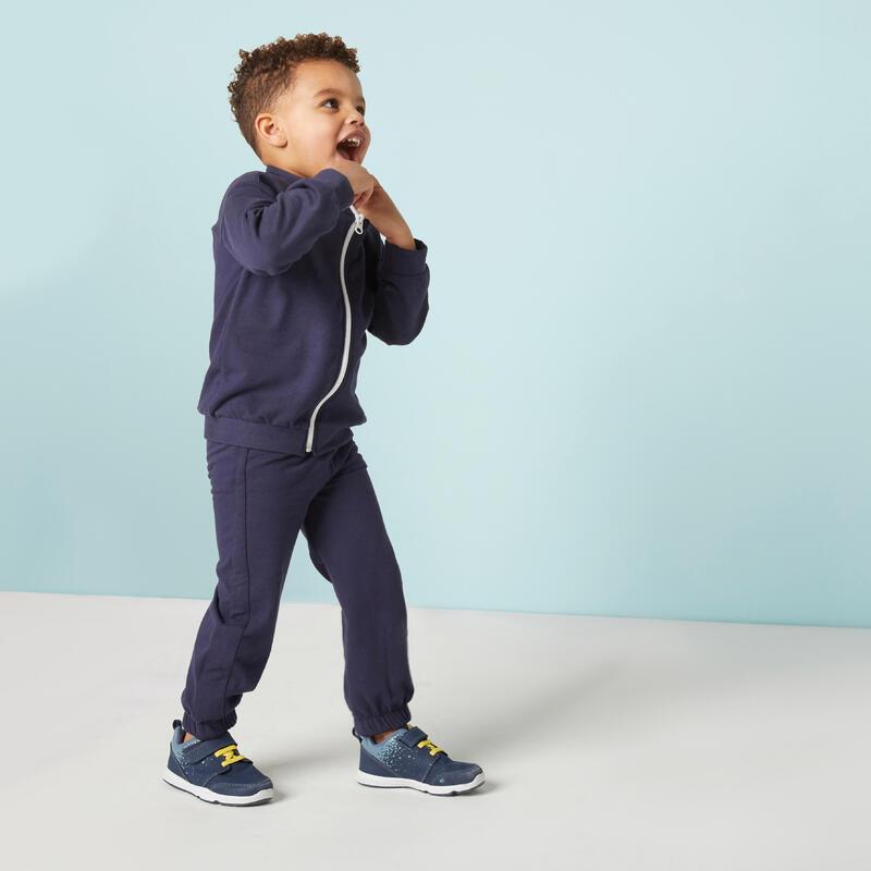 Survêtement chaud regular bleu marine Baby Gym enfant