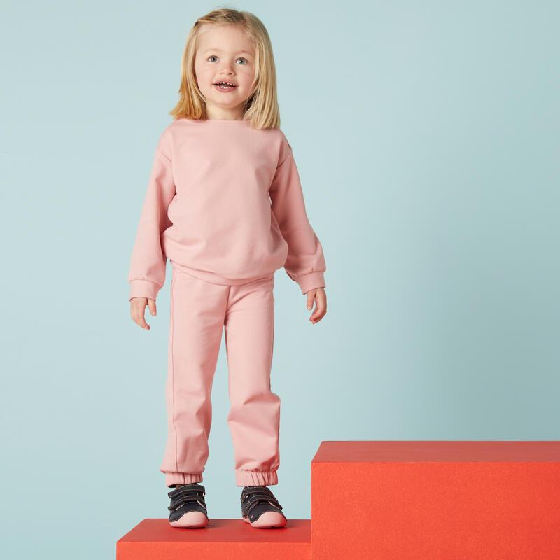 Survêtement basique rose Baby Gym enfant