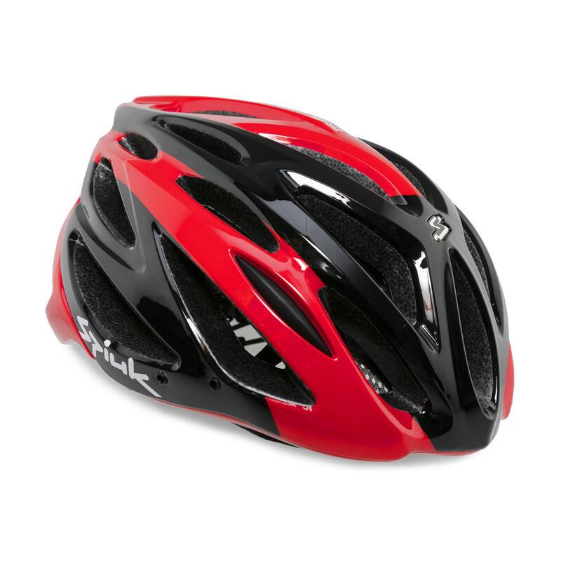 Casco de bicicleta Spiuk Zirion Rojo y Negro