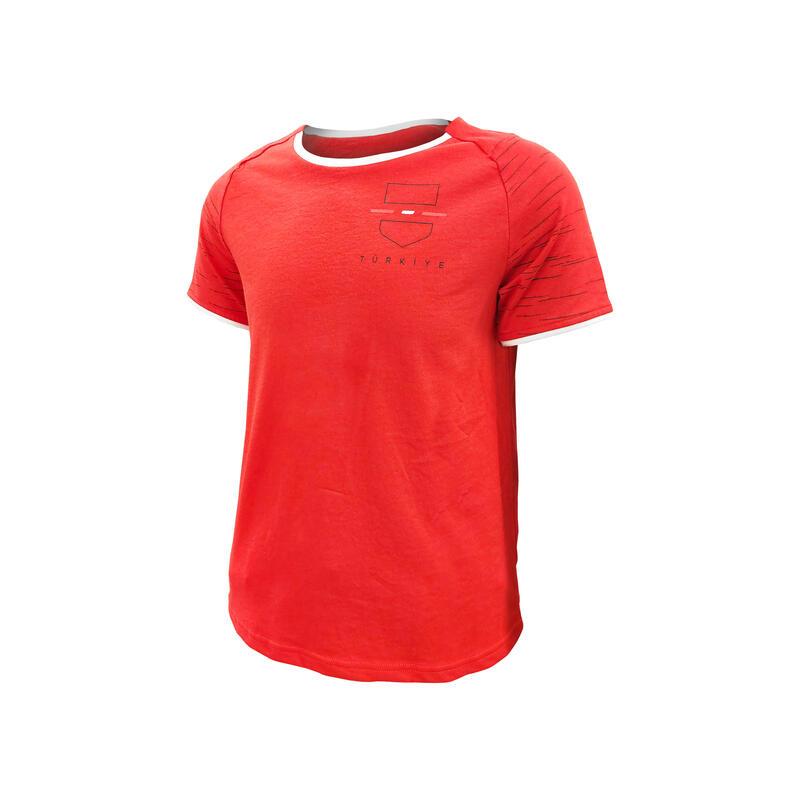 Türkiye Forması - Çocuk - Kırmızı / Beyaz - FF100