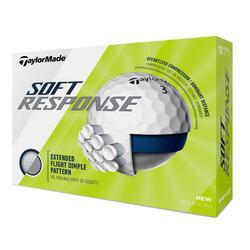 Bola de Golf SOFT RESPONSE Branco (conjunto de 12)