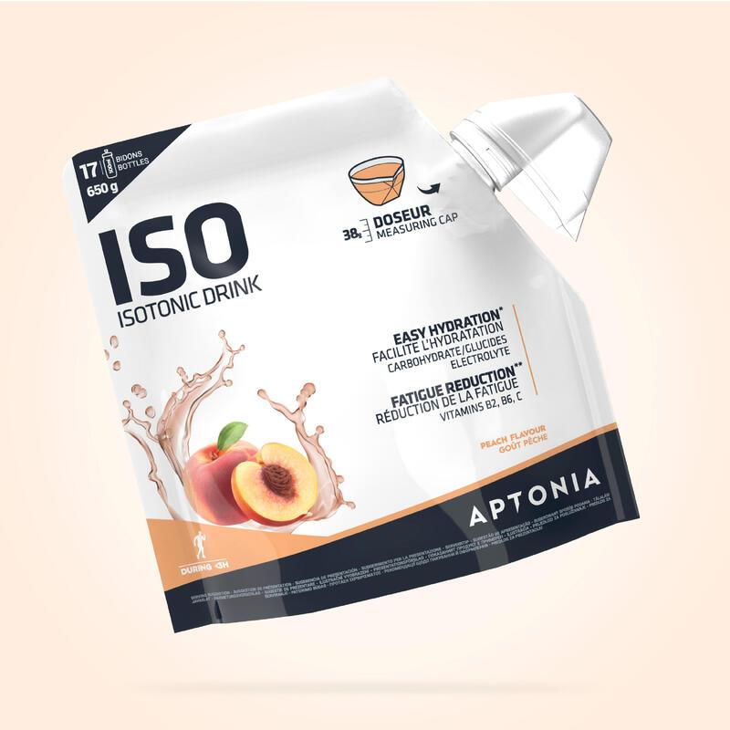 Boisson isotonique poudre ISO Pêche 650g