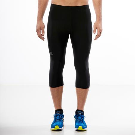 Ekiden Men's 3/4 Running Tights - Black