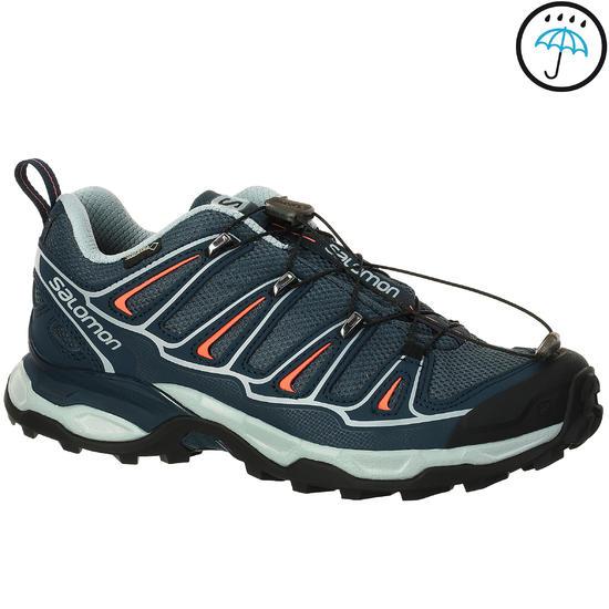 Lichte wandelschoenen voor dames Salomon X Ultra Gore-tex grijs/blauw - 208199