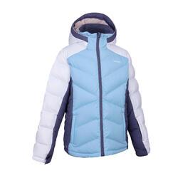 女童款滑雪保暖外套 500 - 紫