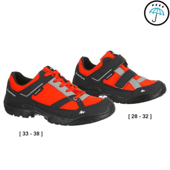 Waterdichte wandelschoenen Arpenaz 50 voor kinderen blauw/koraal - 208245