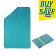 Swimming Microfibre Towel Size L 80 x 130 cm - Sea Green