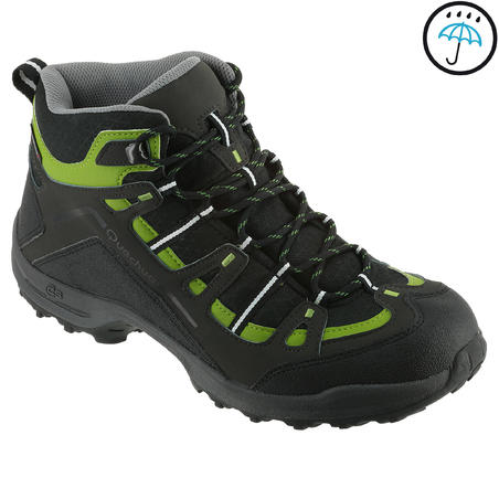 Quechua Arpenaz 100 Mid Impermeable Men's Hiking Boots