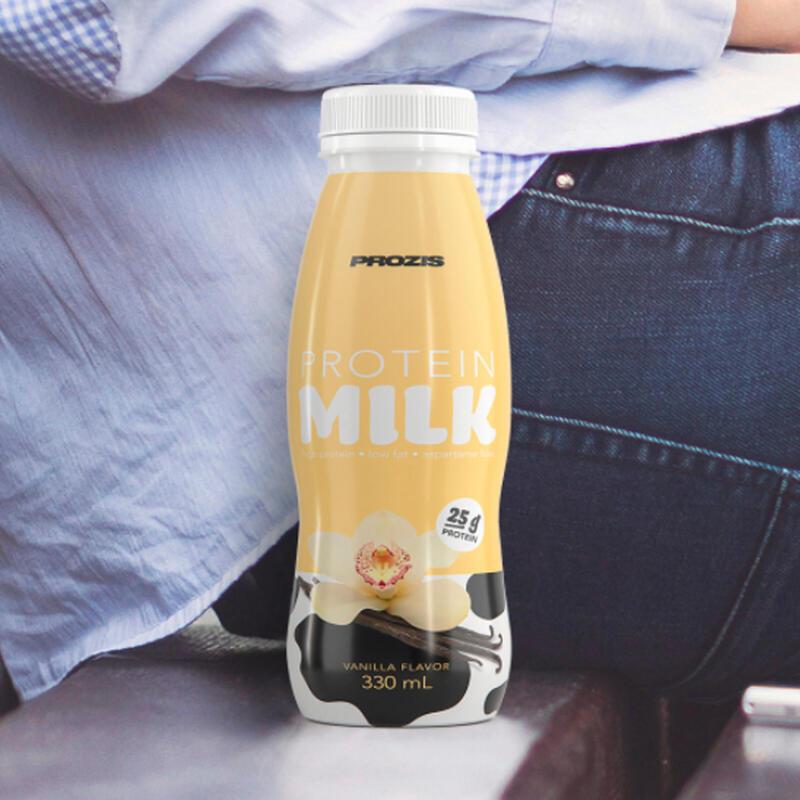Protein Milk Prozis Preparado Proteina sabor vainilla 330 ml