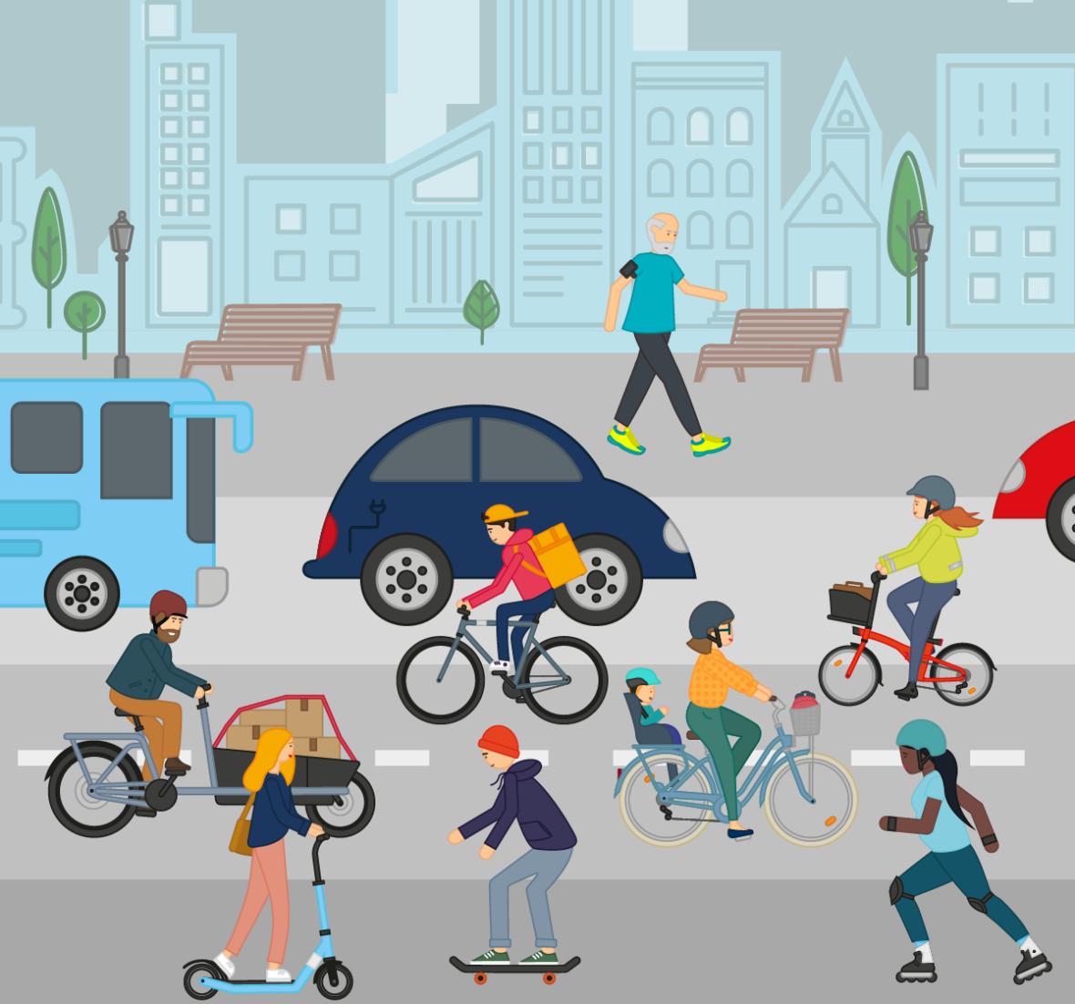 Trottinette ou vélo, comment choisir ?
