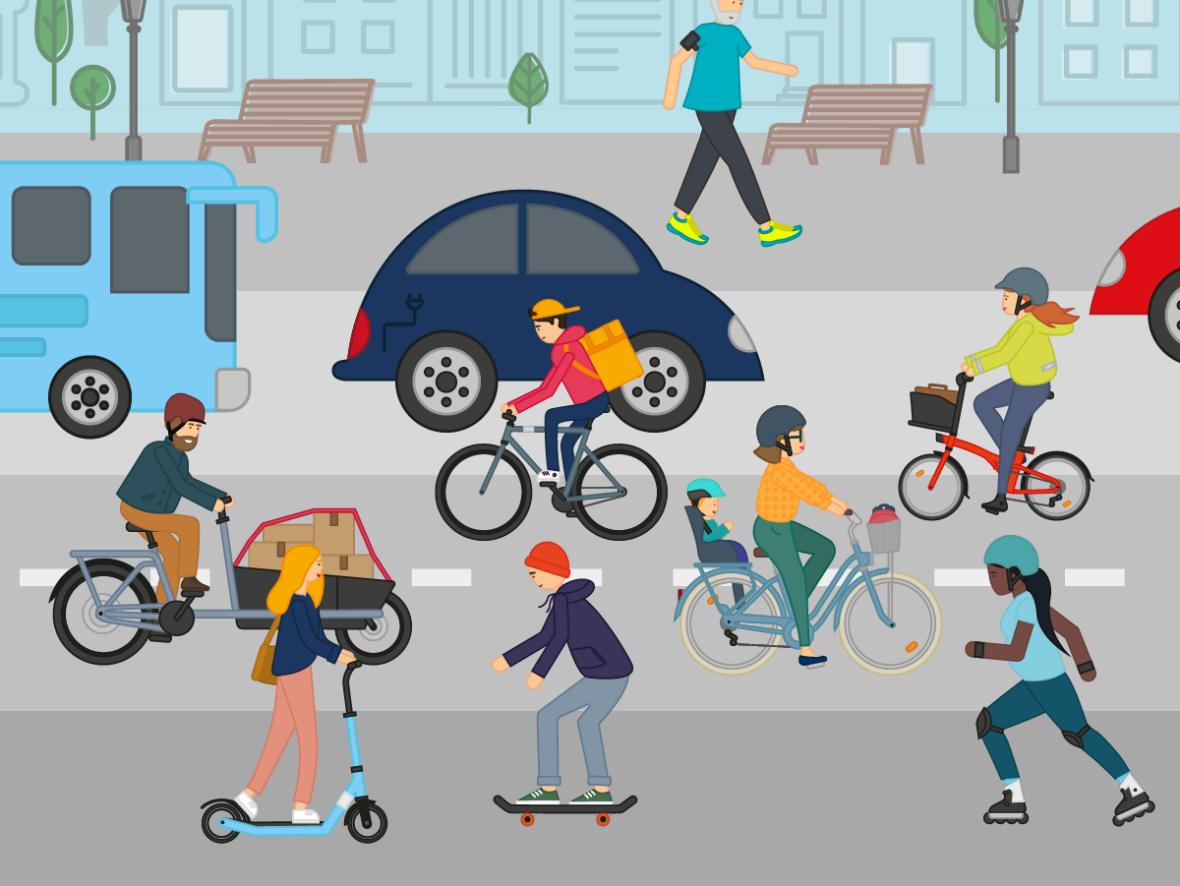 Vélo ville : santé, bien-être, écologie, tous les bienfaits