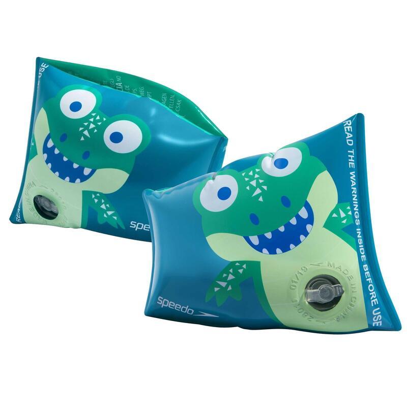 Brassards de piscine SPEEDO imprimés CROCO 2 à 6 ans (maxi 25KG)
