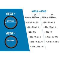 PNEU VÉLO DE VILLE 5 PROTECT 650X35B : ETRTO 40-584