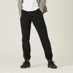 Pantaloni pesanti uomo ginnastica 100 neri
