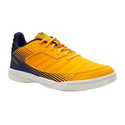 Sapatilhas de Futsal Criança ESKUDO 500 Amarelo/Azul