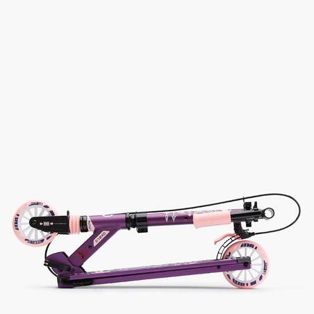 MID5 Kids' Scooter with Handlebar Brake and Suspension - Tribal Graphic