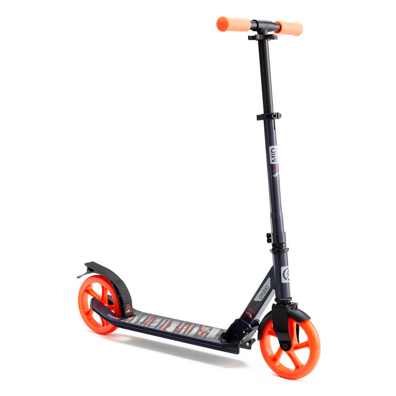 Scooter Mid 7 With Stand - Blue/Navy/Orange