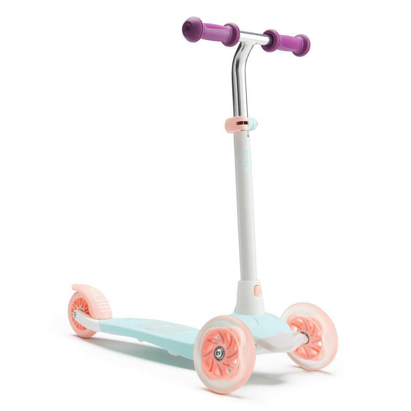 Kids' Scooter B1 500 V2 - White/Mint