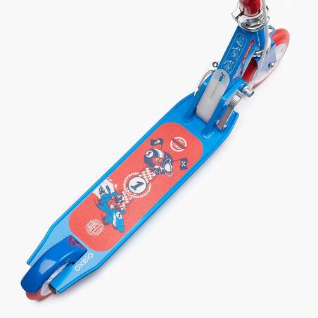 """Vaikiškas paspirtukas su stabdžiu """"Play 5"""", mėlynas"""