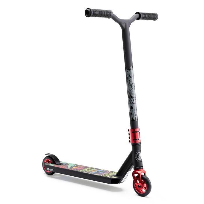 Stunt Scooter Freestyle MF1.8+ schwarz/rot