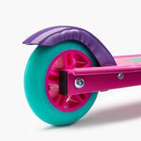 """Vaikiškas paspirtukas su stabdžiu """"Play 5"""", purpurinis"""