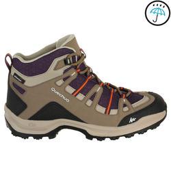 Waterdichte wandelschoenen voor dames Arpenaz 100 mid - 208578