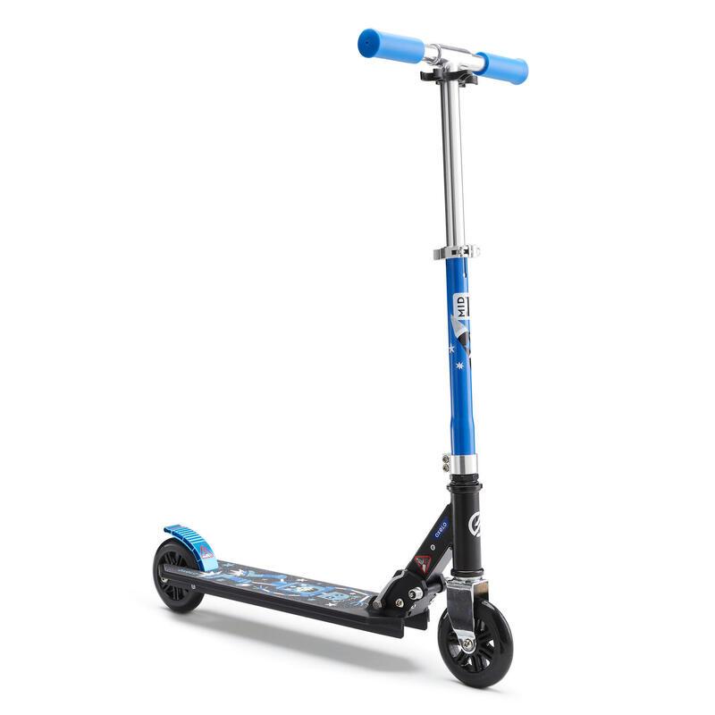 Patinete Scooter Oxelo MID 1 Niños Azul Gris Negro