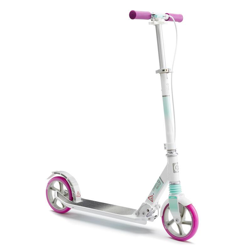 MID 9 Kids' Scooter - White/Purple