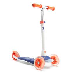Kinderstep 3 lichtgevende wielen B1 500 blauw/rood V2