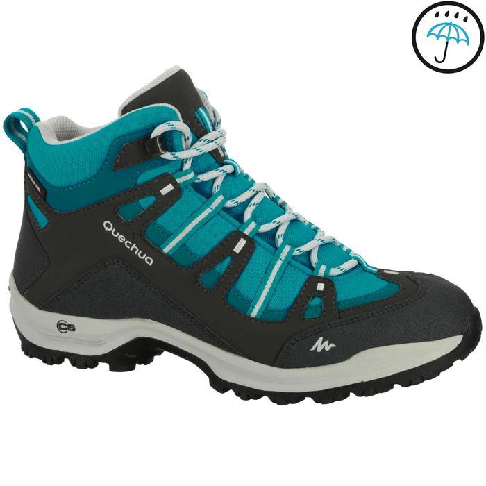 Chaussures de randonnée Nature femme Arpenaz 100 mid imper violette. - 208614