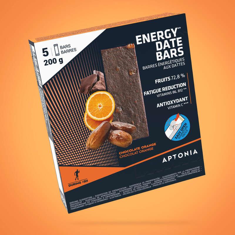 KAKOR, GEL& EFTER Näring och kosttillskott - Energibar Apelsin 5x40 g APTONIA - Uthållighet