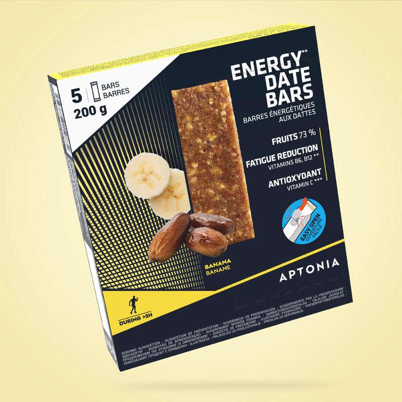 KAKOR, GEL& EFTER Näring och kosttillskott - Energibar banan 5x40 g APTONIA - Uthållighet