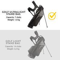 Golf Ultralight Stand Bag - Black