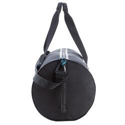 Kokertas Medium Strong fitness zwart/rood - 208644