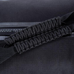 Kokertas Medium Strong fitness zwart/rood - 208652