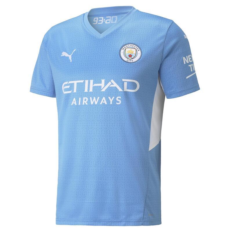 Maillot de football Home Manchester City 21/22 ENFANT PUMA