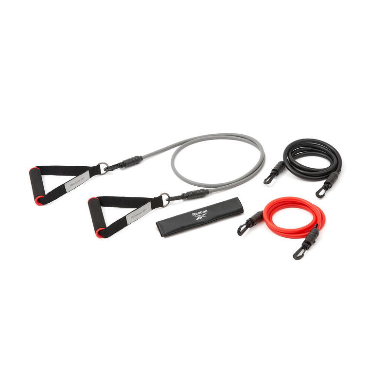 Set de 3 tubes de résistance élastiques - Power Tube Reebok