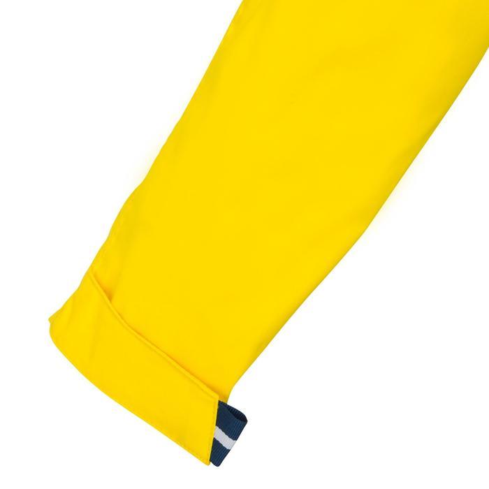 兒童款防水航海雨衣100-黃色