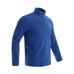 Men's Mountain walking fleece MH180 - Blue