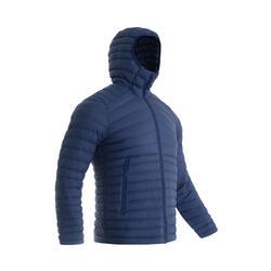 男款登山羽絨外套- TREK 100 - 藍色