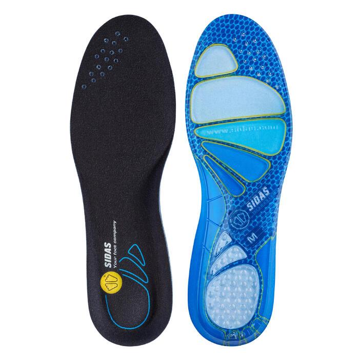 Palmilhas de caminhada CUSHIONING GEL Azul