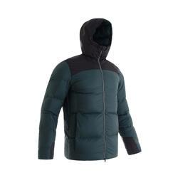 男款多日登山羽絨外套 - TREK 900 -18°C 綠色