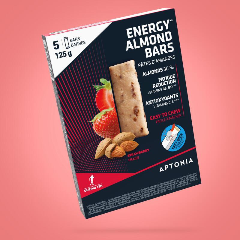 Marcipánové energetické tyčinky jahodové 5 × 25 g