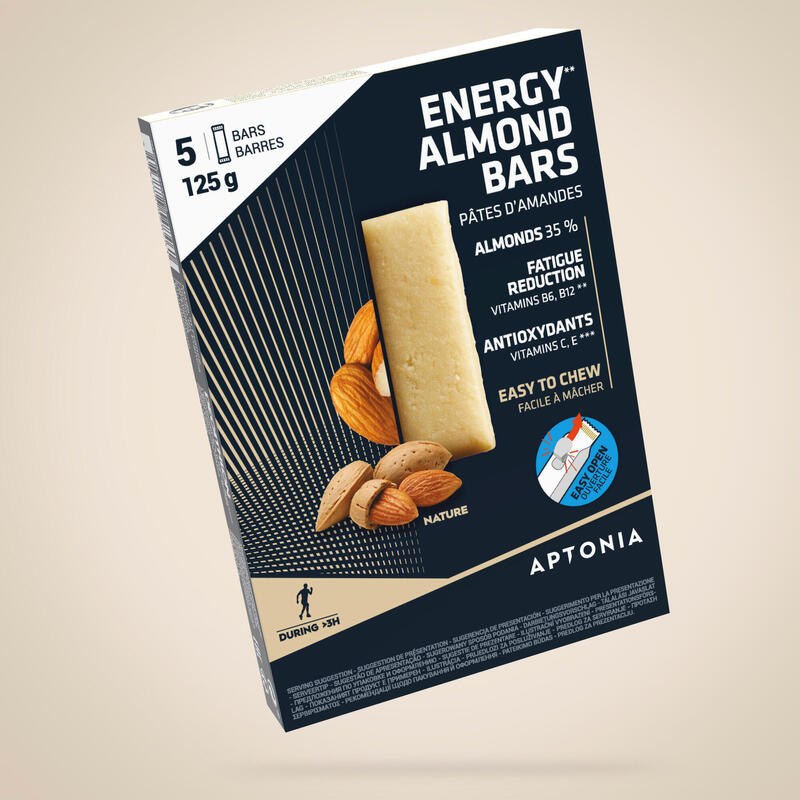Marcipánové energetické tyčinky přírodní 5 × 25 g