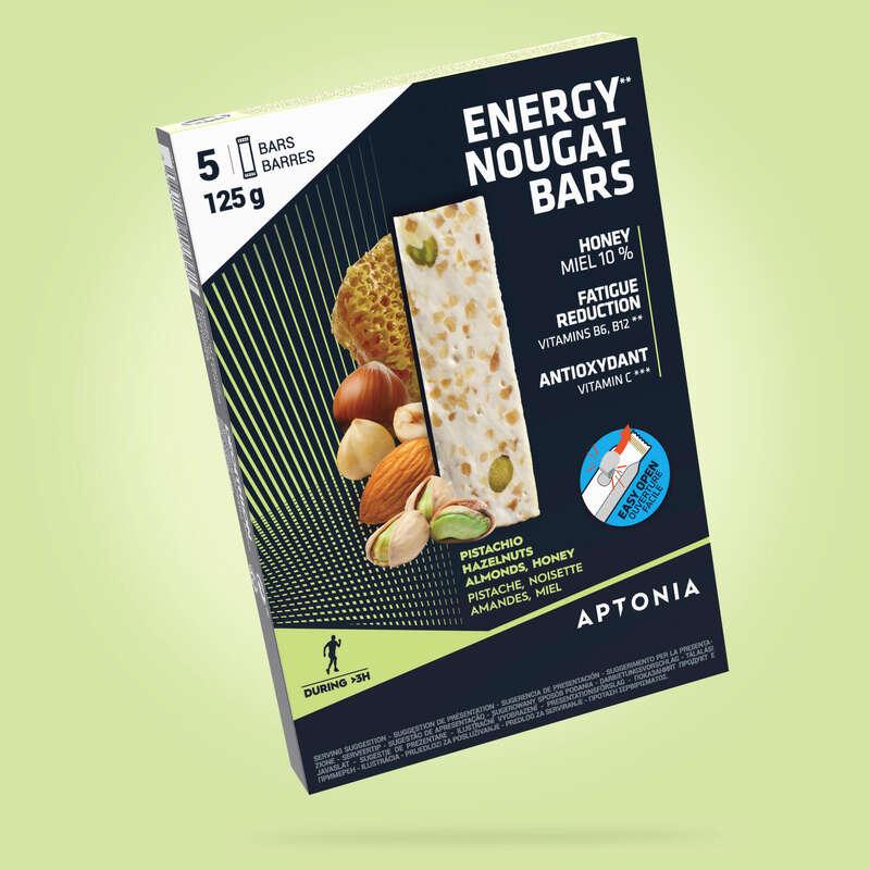 KAKOR, GEL& EFTER Näring och kosttillskott - Nougat energi 5X25 g APTONIA - Uthållighet