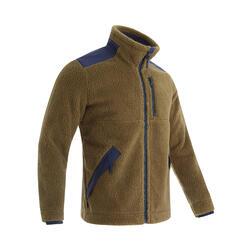 Men's Warm Fleece Hiking Jacket - SH500 Ultra-Warm