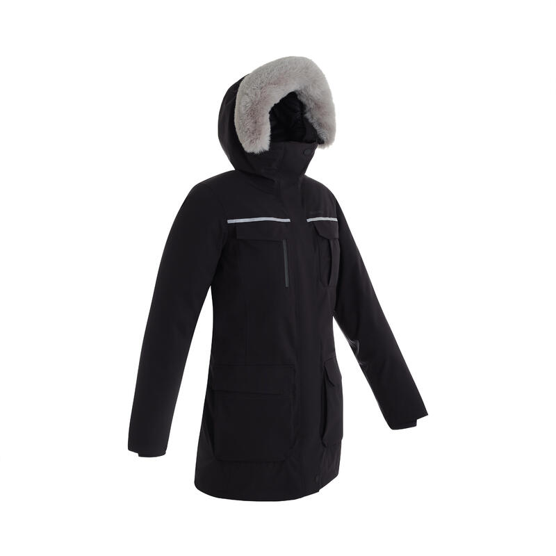Women's Lightweight Feather Down Waterproof Hiking Parka SH500 Ultra-Warm -11°C